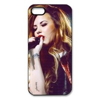Demi Lovato Hard Case Back Cover for iphone 5