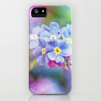 FORGET-ME-NOT iPhone Case by 📷 VIAINA | Society6