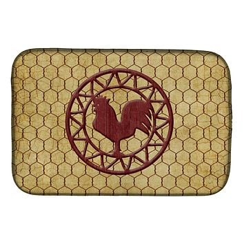 Rooster Chicken Coop Dish Drying Mat SB3085DDM