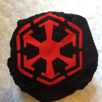 Star Wars Sith Imperial All In One (AIO) Cloth Diaper - One-Size or Newborn, S, M, L
