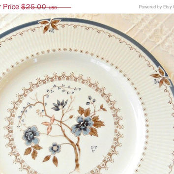 On Sale Vintage Royal Doulton Old Colony Dinner Plate, English Translucent China, Cake Plate, Pie Plate, Wedding, Replacement China