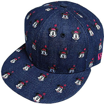 New Era 9FIFTY Allover Disney Minnie Mouse Cap - O/S (54.9 cm - 59.6 cm)