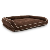 Memory Foam Brown Couch Dog Bed | Petco