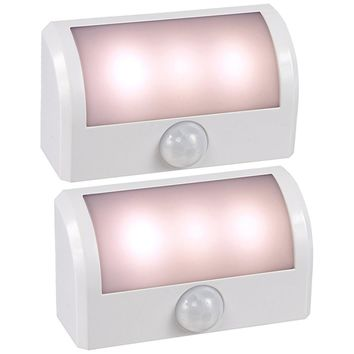Amerelle 73188 LED Motion Activated Battery-Powered Path Lite - Package of 2