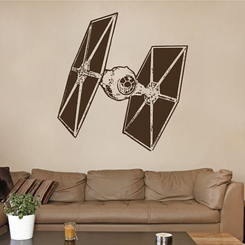 kik2285 Wall Decal Sticker cool space spacecraft star wars living room bedroom