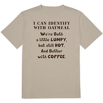 Identify With Oatmeal Tee