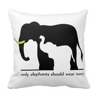Only Elephants Should Wear Ivory (White Ver.)