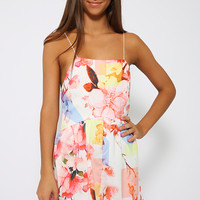 Hold Tight Playsuit - Floral