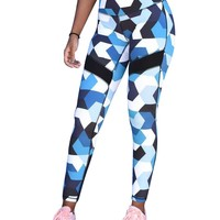 Pattern Print Leggings - Yola