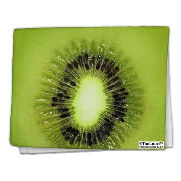 "Kiwi Fruit 11""x18"" Dish Fingertip Towel All Over Print by TooLoud"