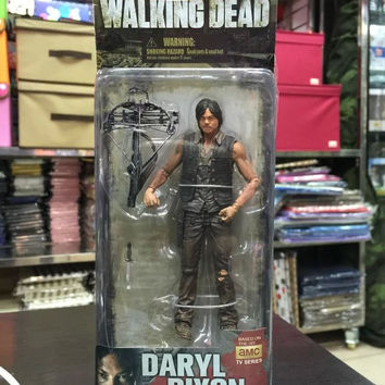 New in Box AMC TV Series The Walking Dead Daryl Dixon PVC Action Figure Collectible Model Toy