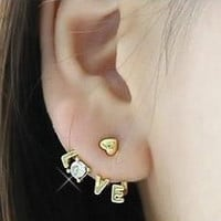 Sparkly Love Wrapping Ear Cuffs