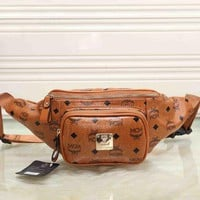 DCCKOB6D MCM Women Shopping Leather Purse Waist Bag Single-Shoulder Bag Crossbody