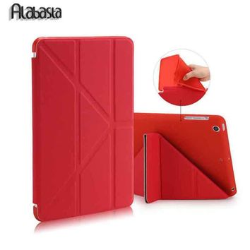 Alabasta For Apple Ipad Air 1 2 Case Pu+Tpu Cover Smart Wake Up Sleep 9.7 inch For Ipad 5 6 Soft Full Protect  +  Stylus Pen