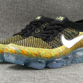 AUGUU Nike Air Max 2018 Vapormax 3.26 MID Flyknit Fashion Running Shoes Brown 36-46
