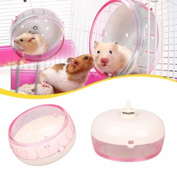 New Small pet hamster Mouse sports running trim wheel hamster cage accessories animal gerbil wheel practice jogging Pet Toys