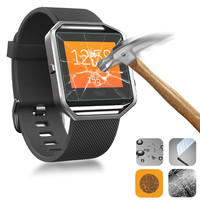High Quality 9H Premium Explosion-proof Tempered Glass for Fitbit Blaze Screen Protector Smart Watch Protective Film