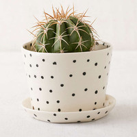 BTW Ceramics Mini Black Planter - Urban Outfitters