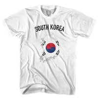 South Korea Flag & Country T-shirt