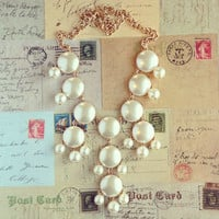Pree Brulee - Helen's Pearl Bauble Necklace