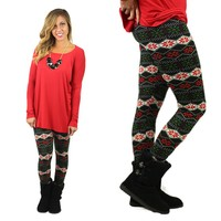 Be Jolly Patterned Leggings