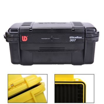 200*98*82 mm 4colors Waterproof box Airtight Seal Storage Trunk case outdoor camp fish survive container drift travel kit kayak
