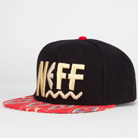 Neff Tribal Beach Mens Snapback Hat Red One Size For Men 24102030001