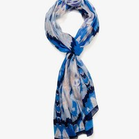 Ikat Print Scarf | FOREVER 21 - 1030186308