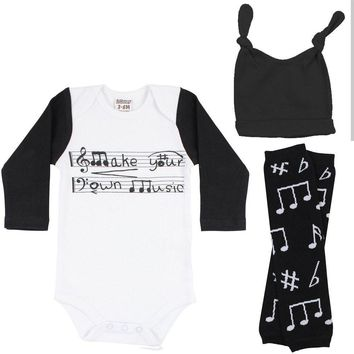 Be Musical 3 Piece Gift Set
