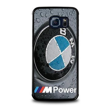 bmw samsung galaxy s6 edge case cover  number 1