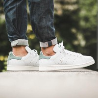 "Adidas Stan Smith ""Ftwr White/Vapour Steel""-S80025"