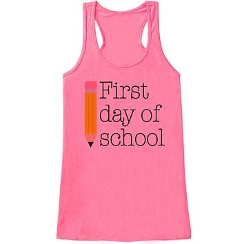 Funny Teacher Shirt - First Day of School Shirt - Teacher Gift - Teacher Appreciation Gift - Gift for Teacher Appreciation - Pink Tank Top