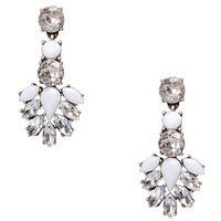 Crystal Floral Stylish Earrings