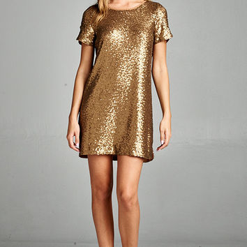 Gold Digger Dress