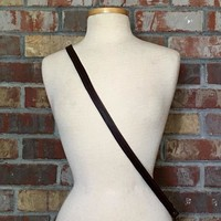 "60"" Petite Leather Cross-body Strap"