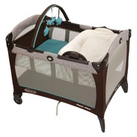 Graco Pack 'n Play Playard with Reversible Napper & Changer - Scribbles