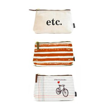 Bundle of 3 Pouches: Set 6