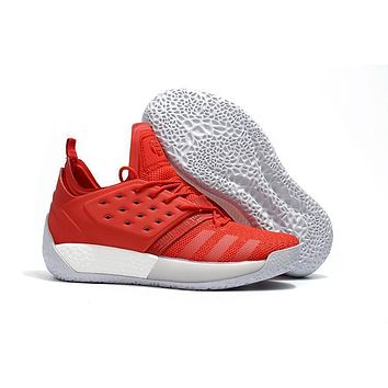 Adidas Harden Vol. 2 All Red Basketball Shoes Us7 11.5