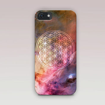 Flower of Life Phone Case For - iPhone 6 Case - iPhone 5 Case - iPhone 4 Case - Samsung S4 Case
