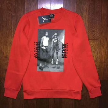 Air Jordan  Fashion Casual Print Long Sleeve Pullover Sweater G-ZDL-STPFYF