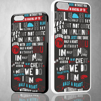 One Direction Lyric 1D X0025 iPhone 4S 5S 5C 6 6Plus, iPod 4 5, LG G2 G3, Sony Z2 Case
