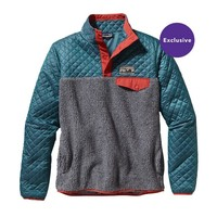 Patagonia Women's Mixed Snap-T® Pullover | Crater Blue