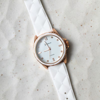 Cute Quilting Design Silicone Band Watches #W27
