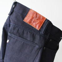 Pure Blue Japan XX-012 14oz Deep Indigo Tapered Slim|Jeans & Denim | Momotaro, Pure Blue Japan, Samurai & Full Count