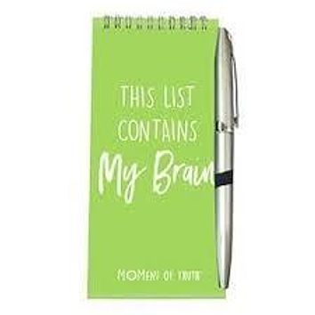 magnetic notepad and pen set My Brain