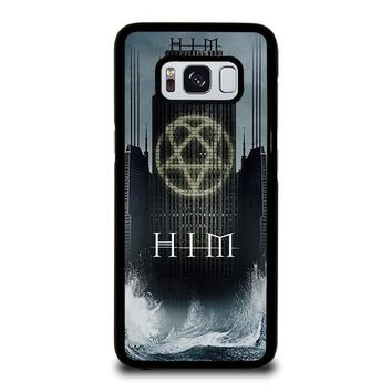 HIM BAND HEARTAGRAM Samsung Galaxy S3 S4 S5 S6 S7 Edge S8 Plus, Note 3 4 5 8 Case Cover