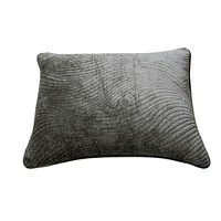 Tache Dark Brown Velvety Dreams Plush Waves Pillow Sham (JHW-852BR)