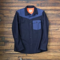 Owner Operator — Wrangler Jacket (Navy/Royal)