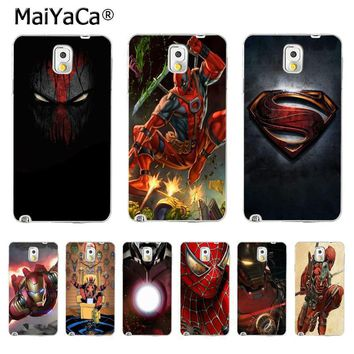 Deadpool Dead pool Taco MaiYaCa Hero SuperMan Iron Man  Personalized Phone Accessories Case for Samsung Galaxy S5 S6 S7 S8 S8 PLUS Clear Cover AT_70_6