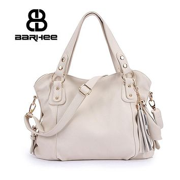 Real Genuine Leather Luxury Women Handbag Ladies Hand Bag High Quality Design Women Messenger Bag White Hobo Retro Tote Cowhide